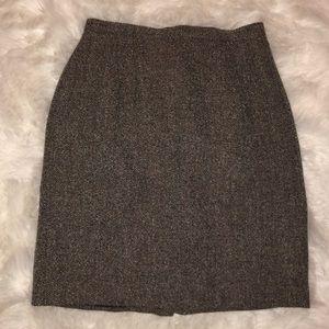 EUC Talbots wool tweed pencil skirt 6 petite